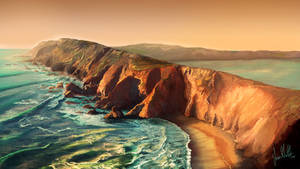 Tomales Point by chateaugrief