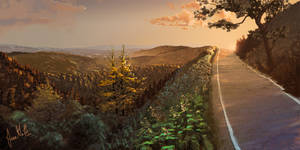 Mt. Madonna Rd. by chateaugrief