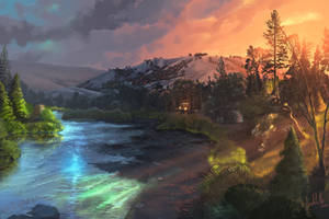 American River by chateaugrief