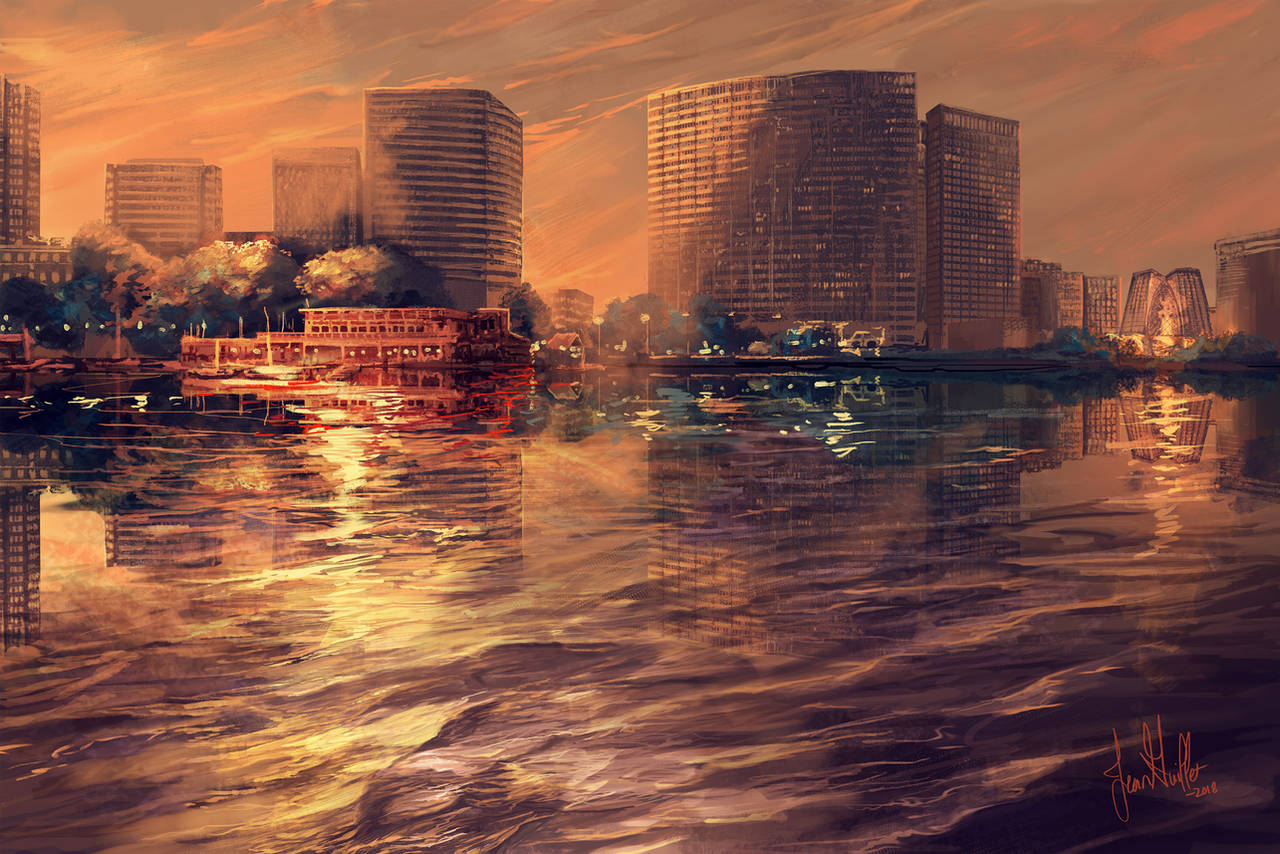 Lake Merritt by chateaugrief