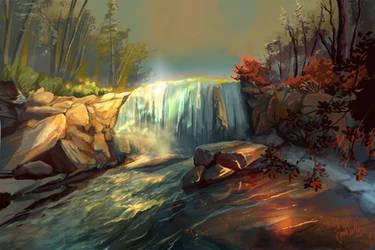Whitney Portal Falls