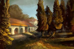 Mission San Juan Arches