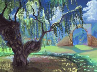 San Luis Rey Pepper Tree