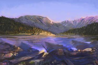Huntington Lake by chateaugrief