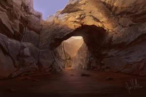 Death Valley Arch