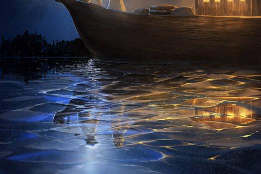 Moonlight Boat