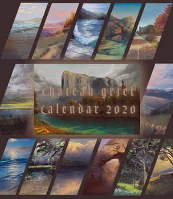 Chateau Grief Calendar 2020