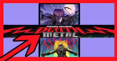 Deth Metal batman and batman who laughs by Trucotrato87