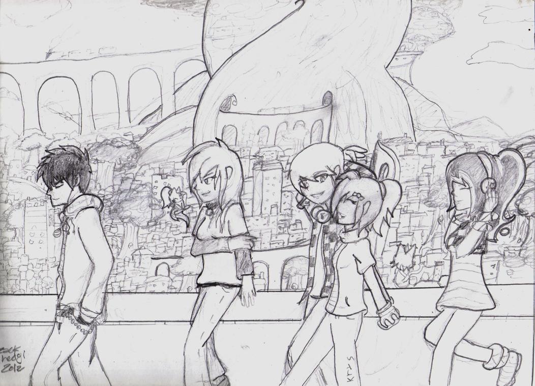 Read  3 Best Friends Girls Drawings in