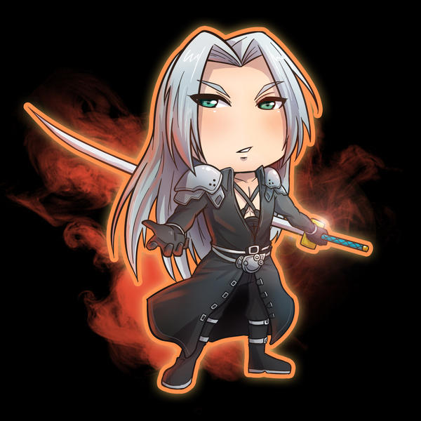 Sephiroth~! by Yuan3
