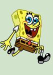 A Very Happy Sponge
