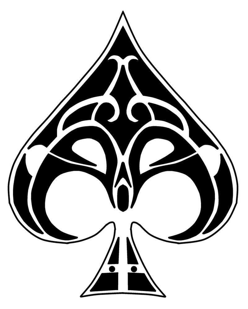 Ace of Spades Tattoo Designs