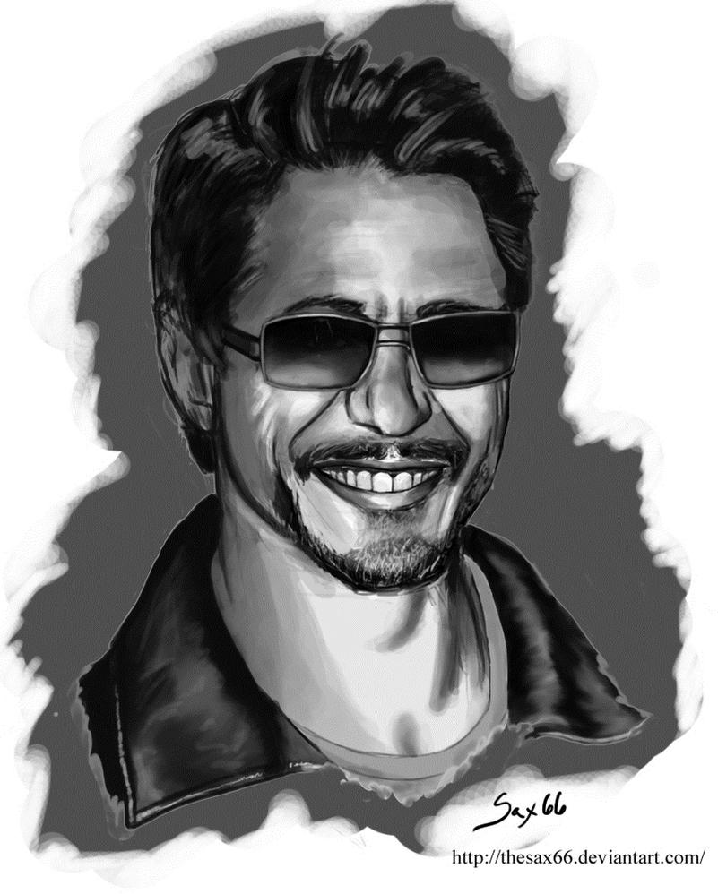 Robert Downey Jr. by TheSax66