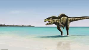 Acrocanthosaurus Beach
