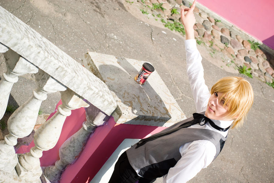 Ouran cosplay : Coffeemania by Azetylen