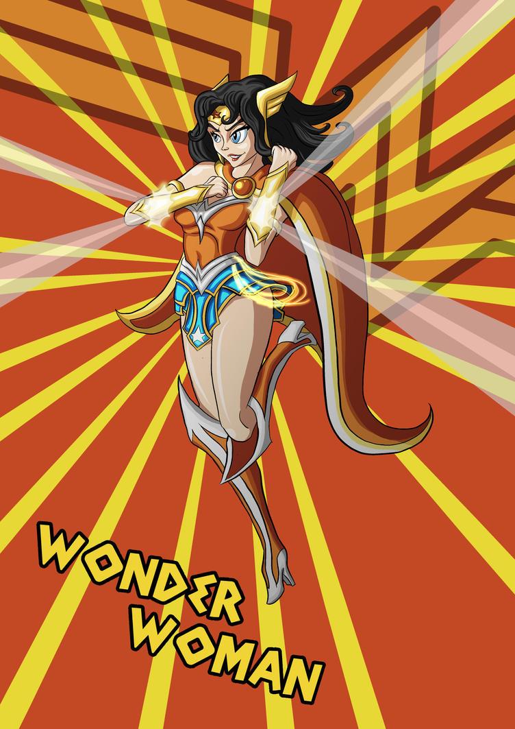 Wonder Woman by SilverCrab
