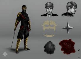 Character Concept-Seishiro Shinoda by AKoukis