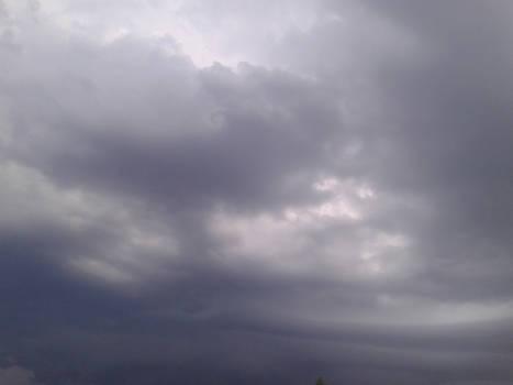 Cloudy sky stock-f2u