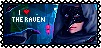 Nightfall-Stamps-The Raven by AKoukis