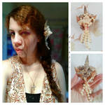 Shells 'n Pearls - Hair Accessory by AKoukis