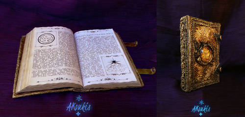 Nightfall Cosplay - The Golden Book by AKoukis