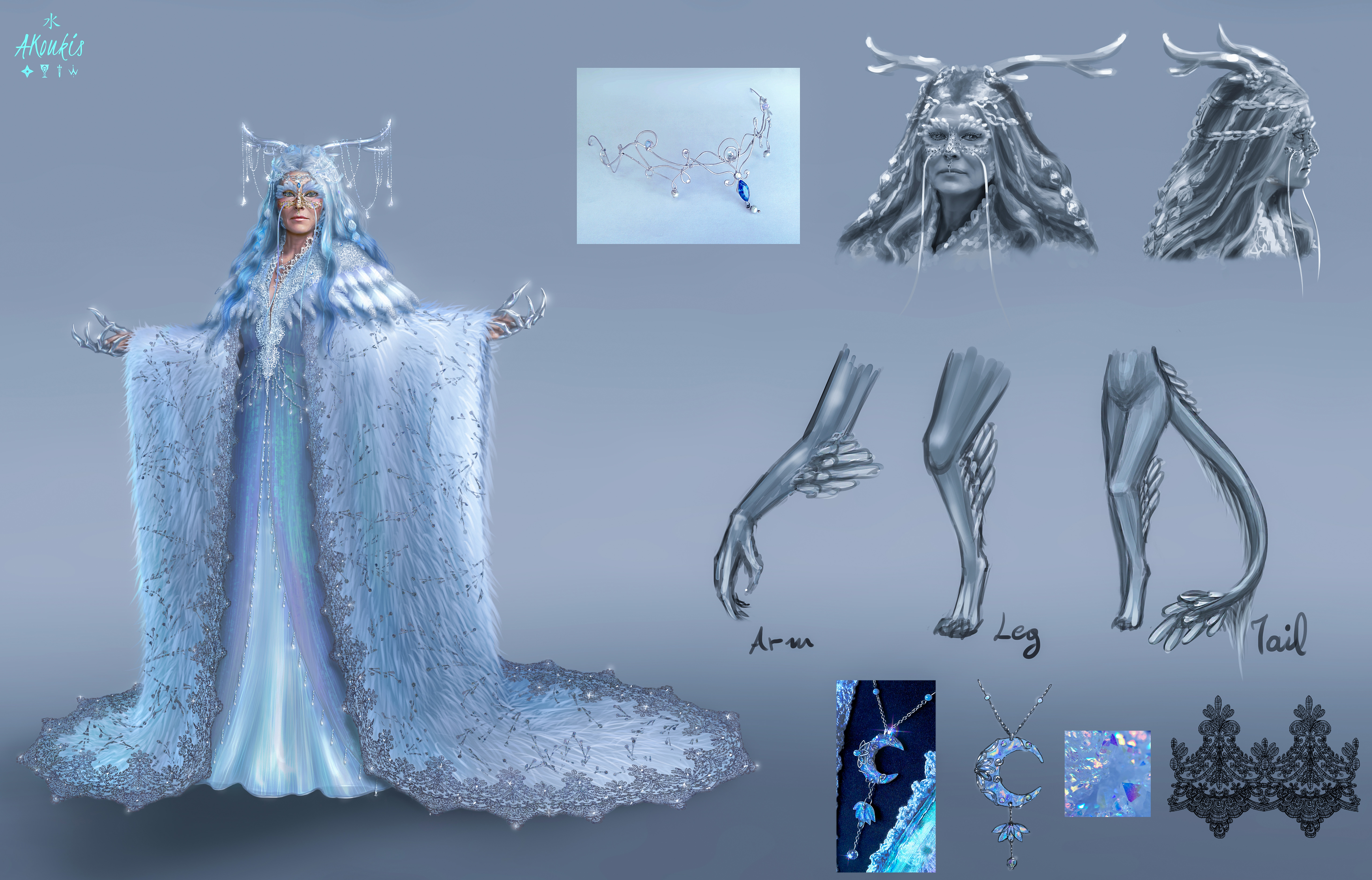Character Concept - Lunaria