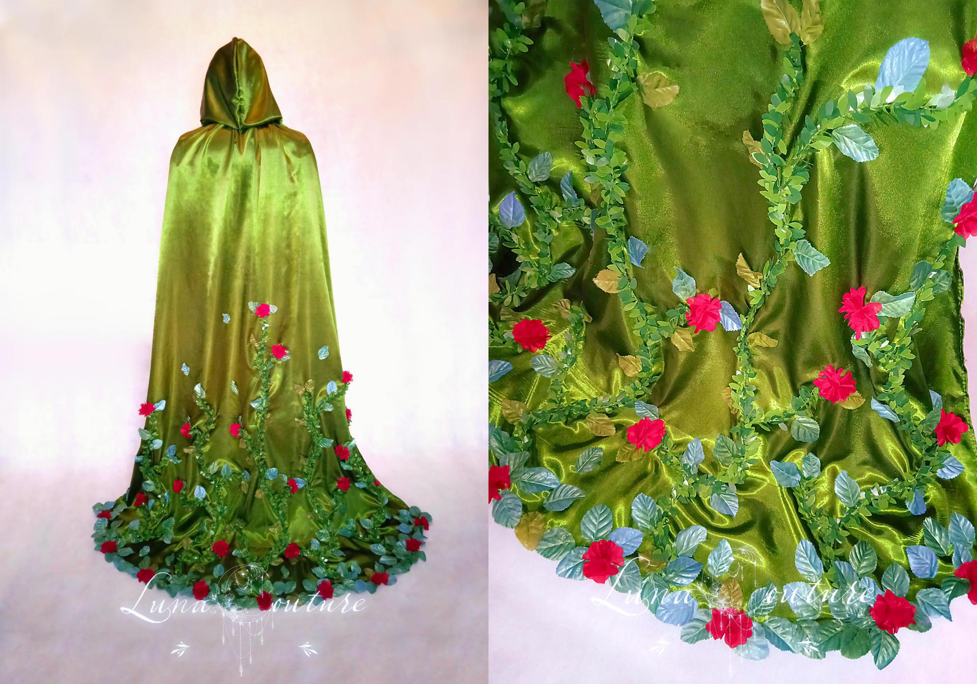Zirinia's Rose Cloak