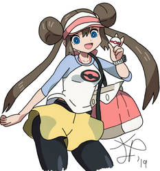 Pokemon Trainer Mei/Rosa Digital by PepsiPlunge96