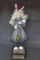 White Rabbit Alice in Wonderland by ChrisGarcia