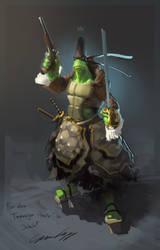 Teenage Pirate Ninja Turtle by acapulc0