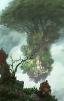 Shrine Island by acapulc0