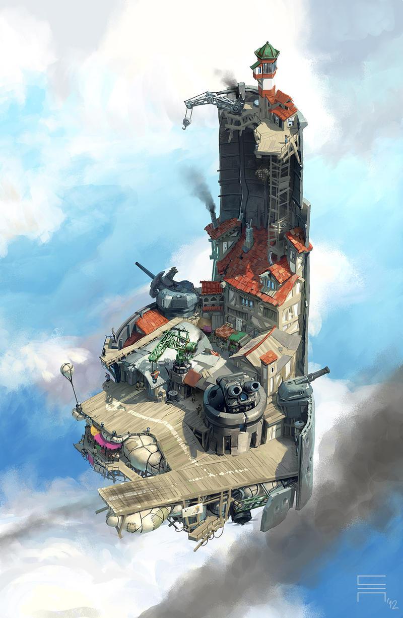 Airborn - Marketfort by acapulc0