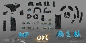 Ori and the Blind Forest - Forlorn Ruins Assets