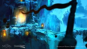 Steam Trading Card Illustration -  Forlorn Ruins