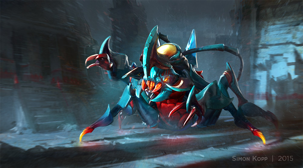 dota2 the scarab s armory loading screen by acapulc0 on deviantart