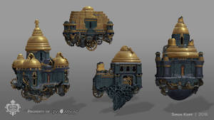 Song of the Deep - Fomori Background Buildings