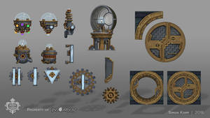 Song of the Deep - Fomori Lighthouse Assets by acapulc0