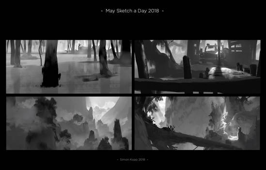 May Sketch a Day 18 - 1
