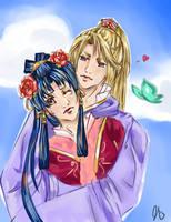 Ryuuki and Shuurei by natasmai