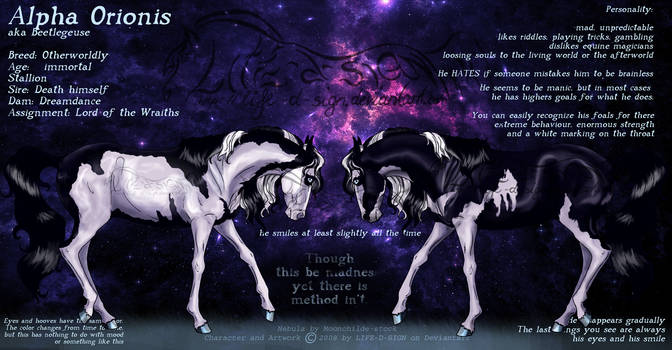 Alpha Orionis - Ref by life-d-sign