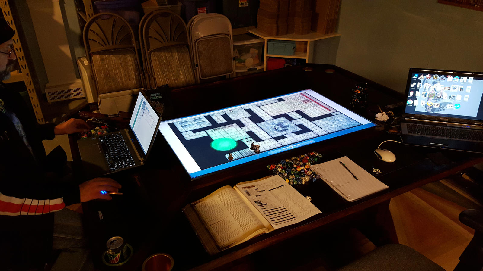 ... Game Table 3.0   In Use Pic 2 By Cyderak