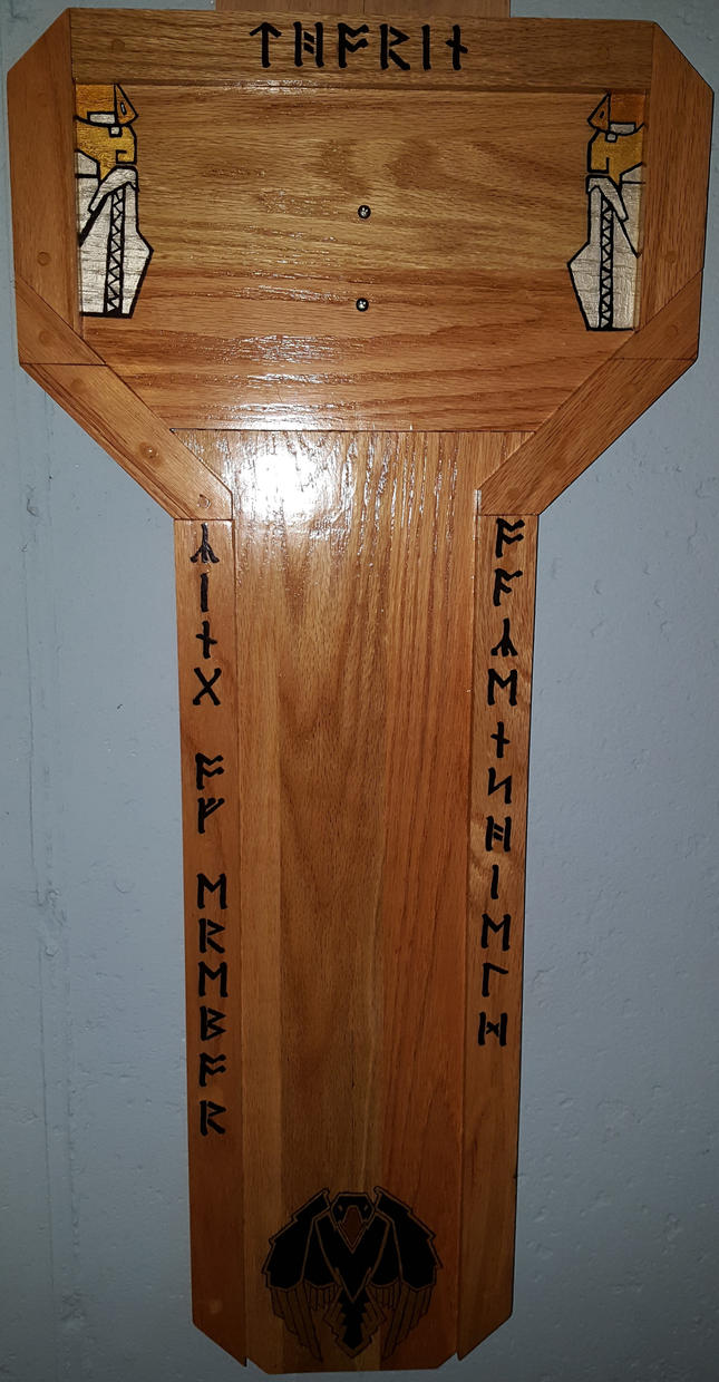 Display plaque for Thorin's sword by cyderak