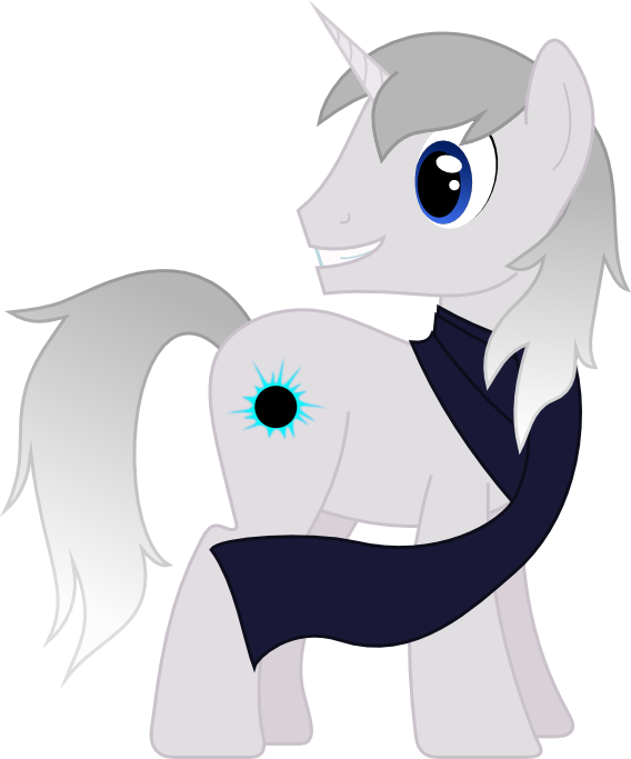 Request twenty-two - Silver Unicorn by AetherElemental