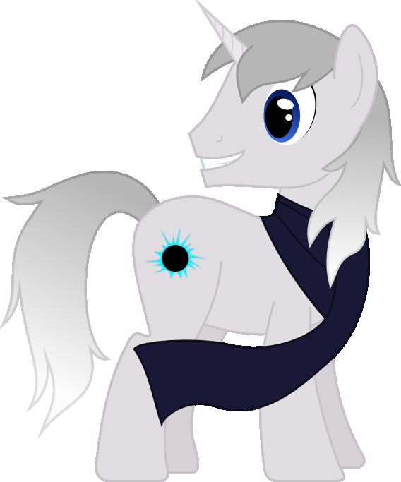 Request twenty-two - Silver Unicorn by AetherElemental