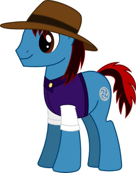 Request twenty-eight A - Gale Force the Earth Pony