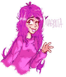 Magenta!!! by RICEKRlSPIES