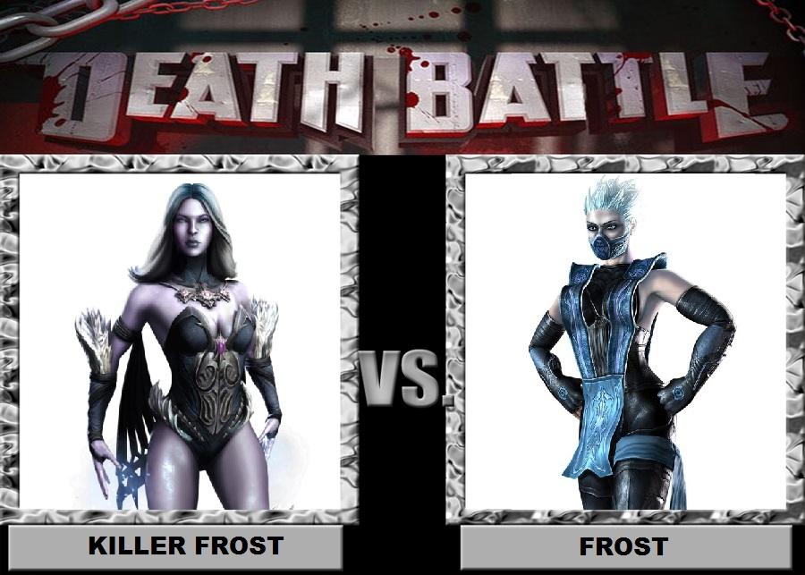 Killer Frost vs Frost by Brasc