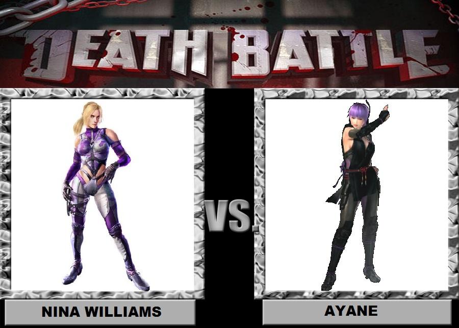 Nina Williams vs Ayane by Brasc
