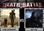 Lone Wanderer vs Artyom