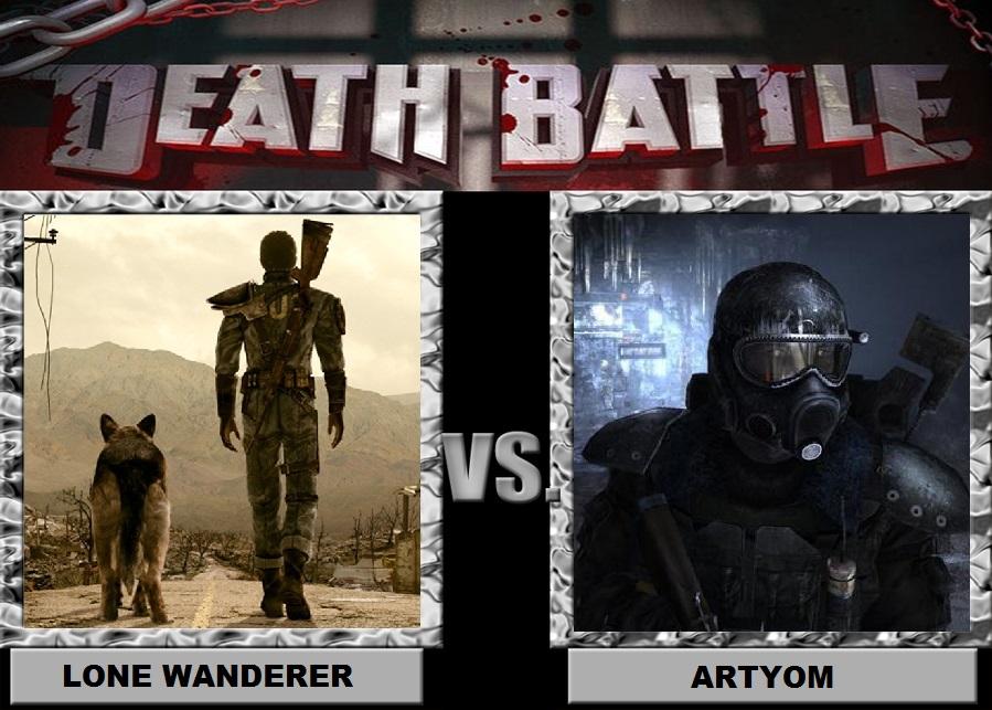 Lone Wanderer vs Artyom by Brasc